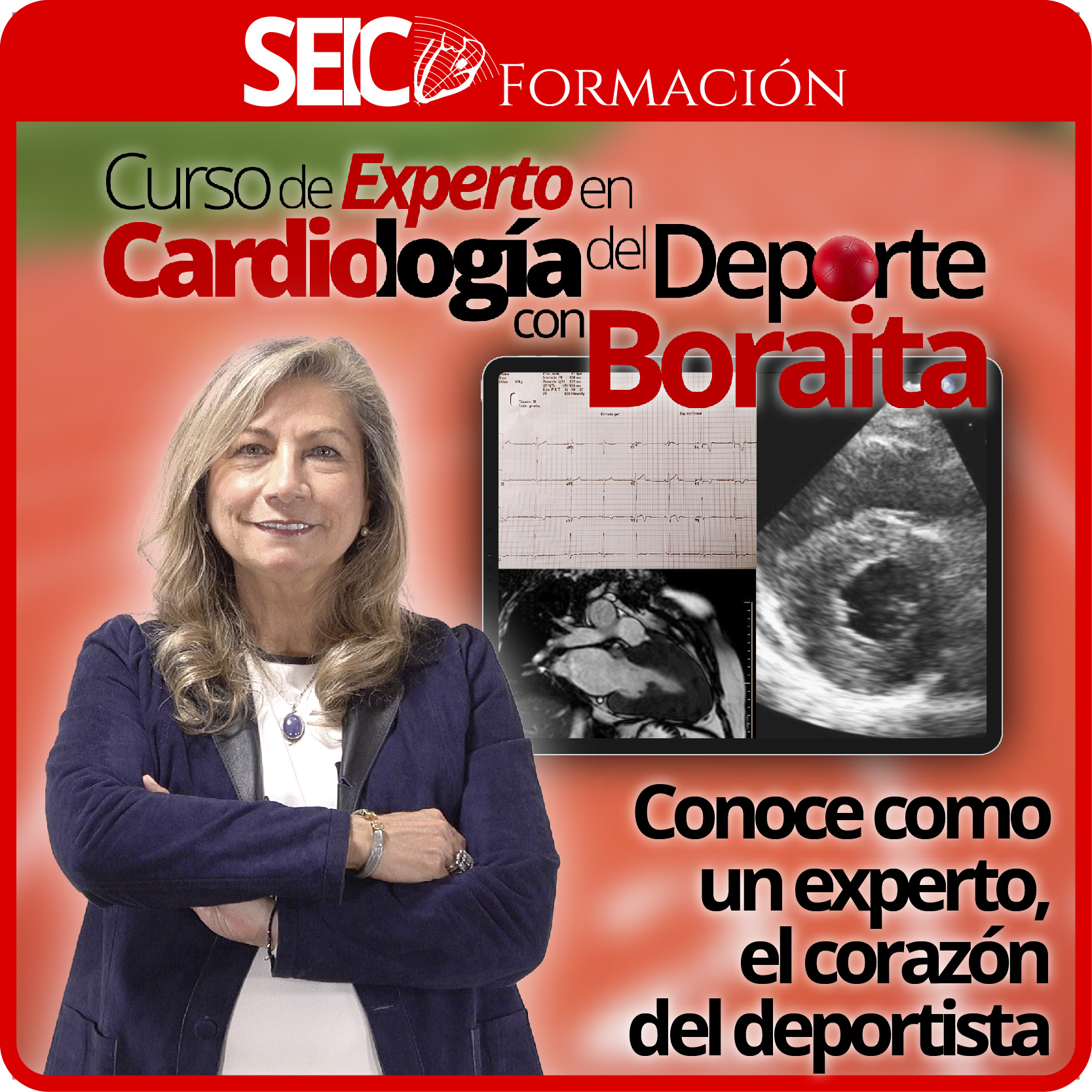 Curso de Experto en Cardiología del Deporte con Boraita